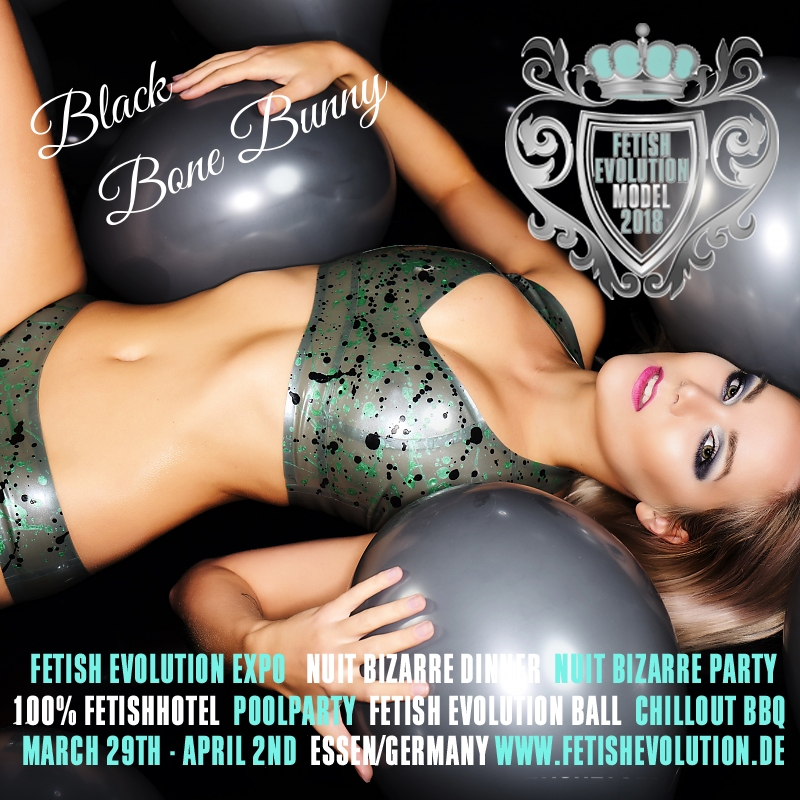Black Bone Bunny - Fetish Evolution Weekend 2016