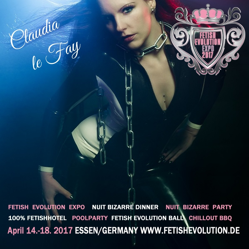 Claudia le Fay - Fetish Evolution Weekend 2016