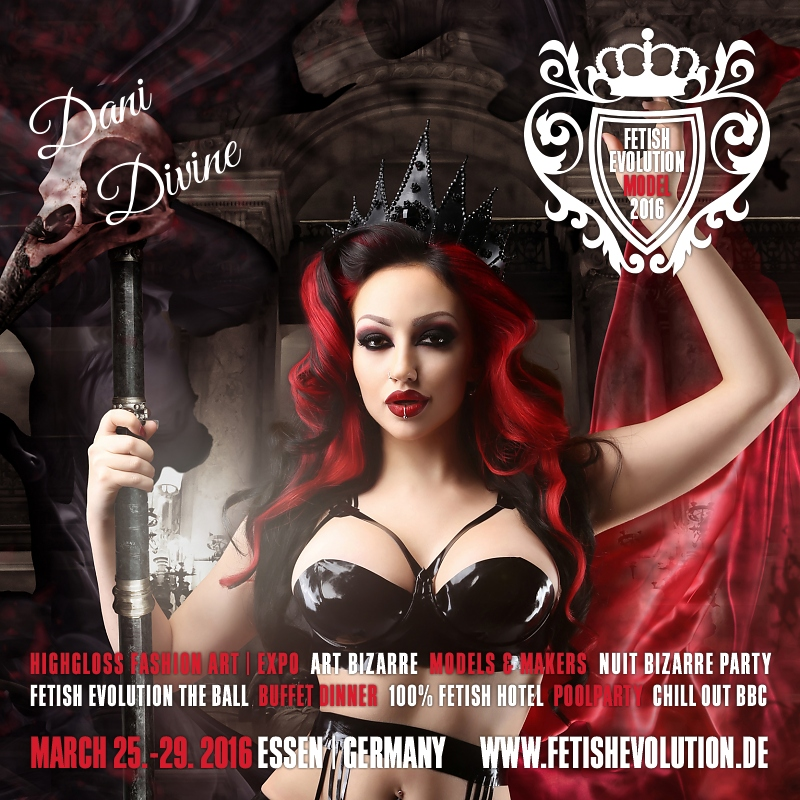 Dani Divine - Fetish Evolution Weekend 2016