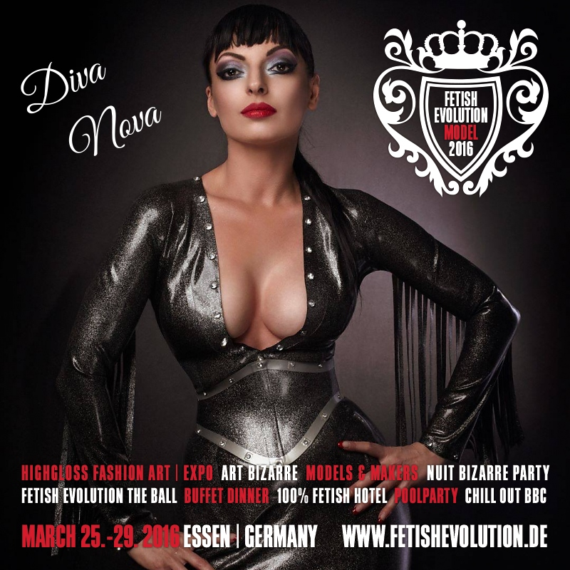 Diva Nova - Fetish Evolution Weekend 2016