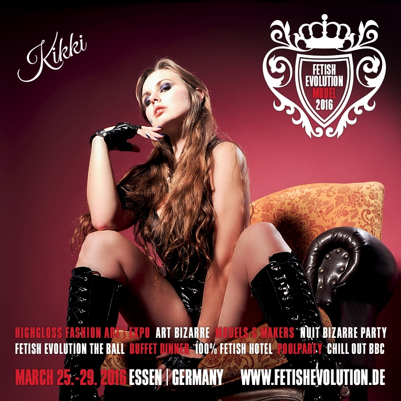 Kikki - Fetish Evolution Weekend 2016