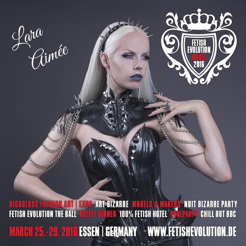 Lara Aimée - Fetish Evolution Weekend 2016