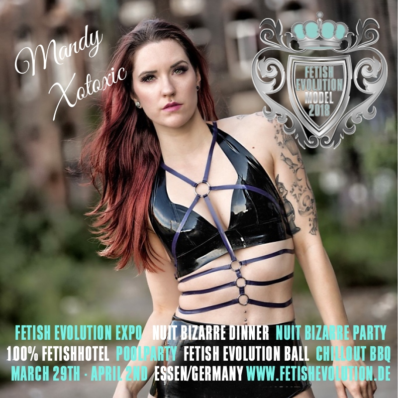 Mandy Xotoxic - Fetish Evolution Weekend 2016
