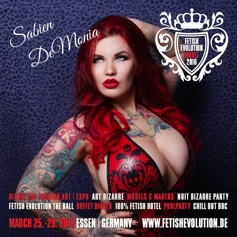 Sabien DeMonia - Fetish Evolution Weekend 2016